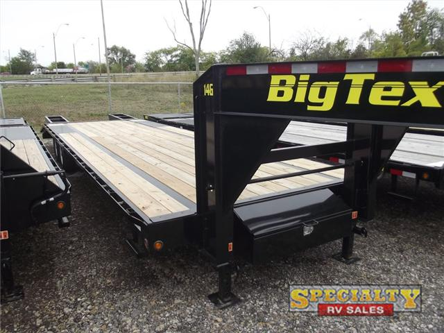 2015 Big Tex Trailers Gooseneck Pintle Trailers 14GN