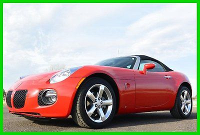 Pontiac : Solstice GXP 2007 pontiac solstice gxp flawless car with only 11 k miles dont miss out
