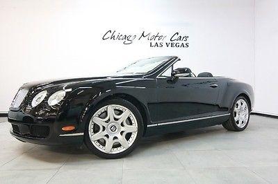 Bentley : Continental GT 2dr Convertible 2008 bentley continental gtc 206 k msrp mulliner driving spec 20 alloy wheels