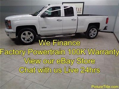 Chevrolet : Silverado 1500 LTZ Crew 2wd GPS Navi Heat Cool Seats 14 silverado 1500 ltz 2 wd gps navi camera heat cool seats warranty we finance
