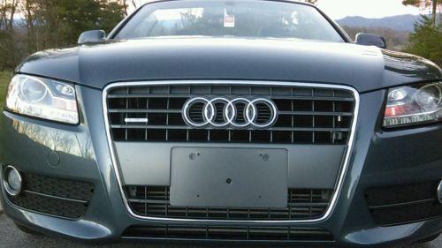 Audi : A5 CABRIOLET PREMIUM PLUS COMFORT 2011 audi a 5 awd quattro convertible 2.0 t platinum audi warranty til 2021