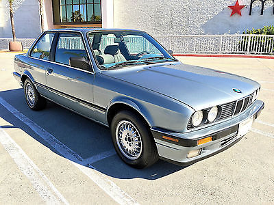BMW : 3-Series Base Coupe 2-Door 1989 bmw 325 i base coupe 2 door 2.5 l e 30 very clean all original virgin car