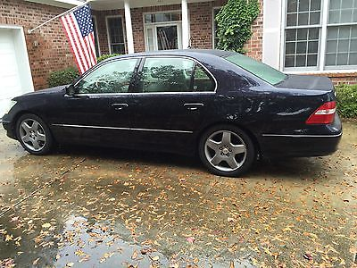 Lexus : LS Body side moldings Lexus LS 430 2004