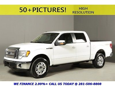 Ford : F-150 2012 LARIAT 4x4 CREW CAB REARCAM HEAT/COOL SEATS 2012 ford f 150 lariat 4 x 4 crew cab rearcam heat cool seats white tan leather v 8