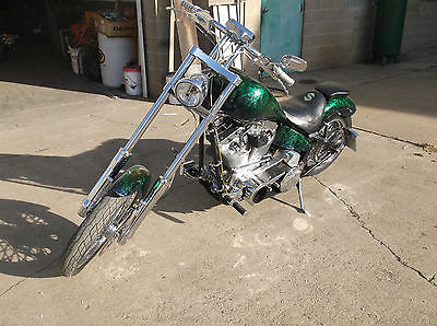 Custom Built Motorcycles : Chopper Custom Chopper 120