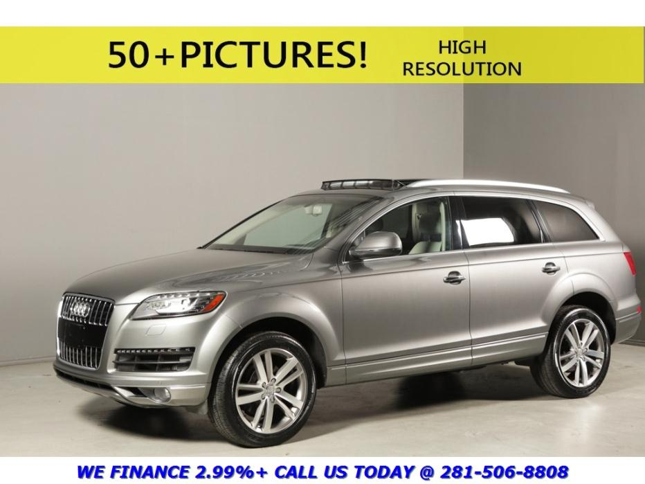 Audi Dealership Houston >> 2013 Audi Q7 Gray Cars for sale