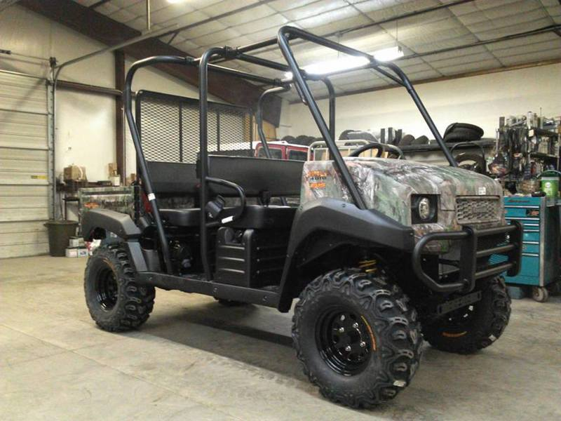 kawasaki lifted mule 4010 trans4x4 camo motorcycles for sale. Black Bedroom Furniture Sets. Home Design Ideas