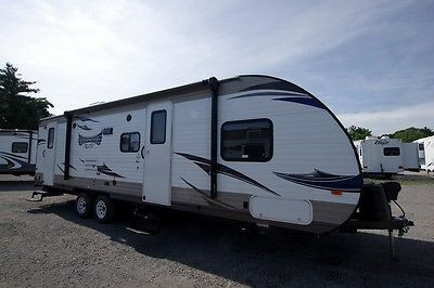 2015 Used Forest River Wildwood Xlite Rv 262BHXL Bunkhouse Travel Trailer Camper