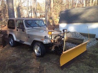 Jeep : Wrangler Jeep Wrangler Sahara YJ, Meyers Plow