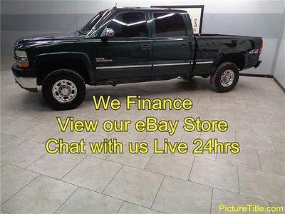 Chevrolet : Silverado 2500 LT3 4x4 CrewHeated Leather Duramax  Allison 02 silverado 2500 4 wd crew duramax allison leather warranty we finance texas
