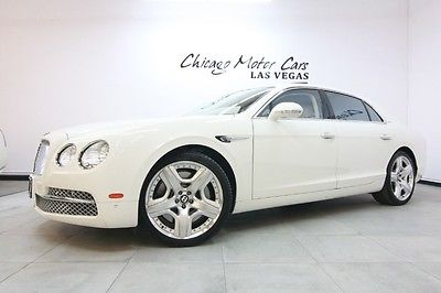 Bentley : Flying Spur 4dr Sedan 2014 bentley flying spur sedan 231 k msrp naim for bentley sound system wow