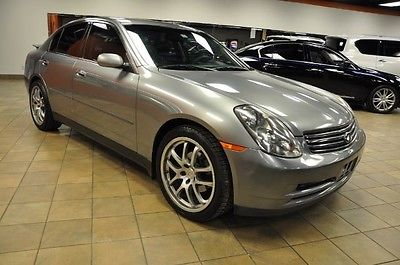 Infiniti : G35 w/Leather SR Bose 2004 infiniti w leather sr bose