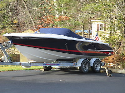 2003 CHRIS CRAFT 22 LAUNCH 127 HR 5.0 VOLVO MPI,SX STERN DRIVE,W/TRAILER