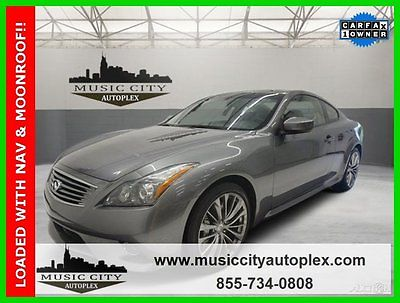 Infiniti : G37 Sport Certified 2012 sport used certified 3.7 l v 6 24 v automatic rwd coupe moonroof bose premium