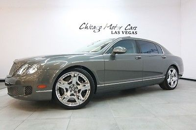 Bentley : Continental Flying Spur 4dr Sedan 2012 bentley continental flying spur speed sedan 228 k msrp naim premium sound