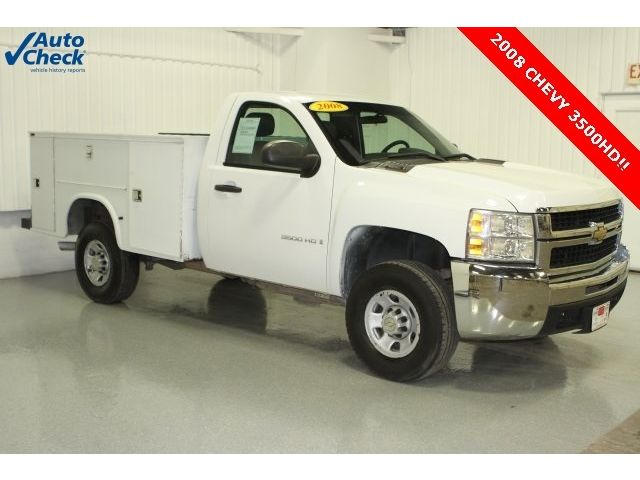 Chevrolet : Silverado 3500 Work Truck 08 chevy c 3500 hd reg cab 4 x 2 srw utility body ready for work save
