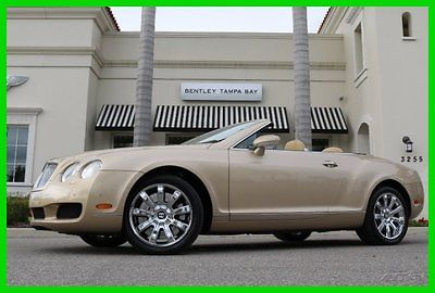 Bentley : Continental GT GTC Convertible 2-Door 2008 used turbo 6 l w 12 60 v automatic awd premium
