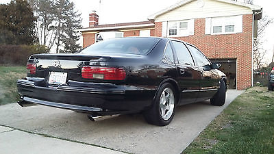 Chevrolet : Impala SS 1996 chevrolet impala ss one of a kind always garaged 72 k mi like new