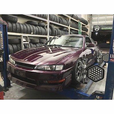 Nissan : 240SX SE RHD 240sx S14 Deep Fuchsia SR20DET AC PS Leather Silvia