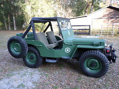 Willys : CJ2A Jeep 1945 willys cj 2 a jeep 11368