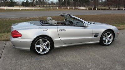 Mercedes-Benz : SL-Class 2005 mercedes benz sl 500 one owner 26 k miles no accidents keyless go