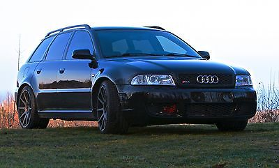 Audi : S4 S4/RS4 600HP VERY RARE 2001 audi b 5 rs 4 converted 600 hp widebody avant