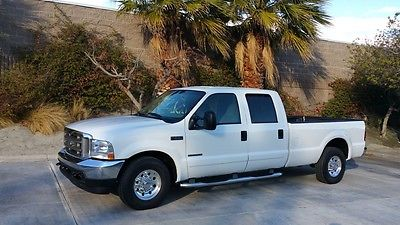 Ford : F-250 4 Door 7.3 Powerstroke Diesel New Ford Unlimited MI Trans! Ford : F-250 2 Owner MINT 7.3 Diesel Powerstroke Crew Cab Long Bed 99 00 02 F350