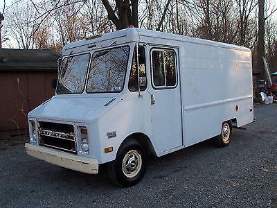 Chevrolet : G20 Van 1979 chevrolet 3 4 ton aluminum body step van w shelving gm crate motor 350 5.7 l