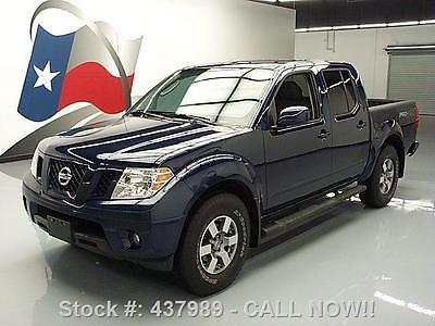 Nissan : Frontier PRO-4X CREW SIDE STEPS ALLOYS 2011 nissan frontier pro 4 x crew side steps alloys 42 k 437989 texas direct auto