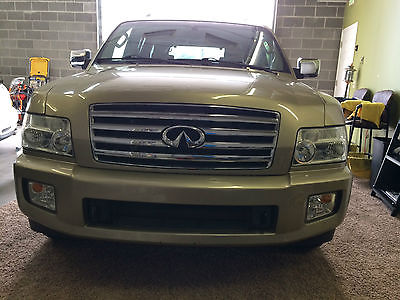 Infiniti : QX56 Base Sport Utility 4-Door 2004 infiniti qx 56 4 x 4 loaded navigation 80 k low miles dvd backup cam htd seats
