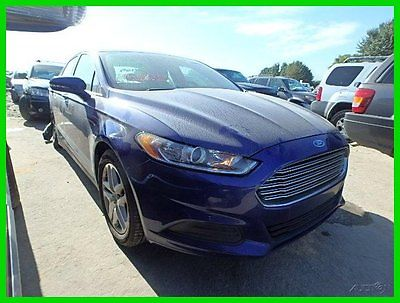 Ford : Fusion 4dr Sdn SE FWD 2014 4 dr sdn se fwd used 2.5 l i 4 16 v automatic fwd sedan