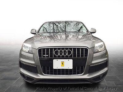 Audi : Q7 quattro 4dr 3.0T S line quattro 4dr 3.0T S line SUV Automatic Gasoline 3.0L V6 Cyl Daytona Gray Pearl