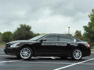 Nissan : Maxima 4dr Sedan V6 CVT 3.5 SV 4 dr sedan v 6 cvt 3.5 sv nissan maima 3.5 sv cvt gasoline 3.5 l v 6 cyl super black