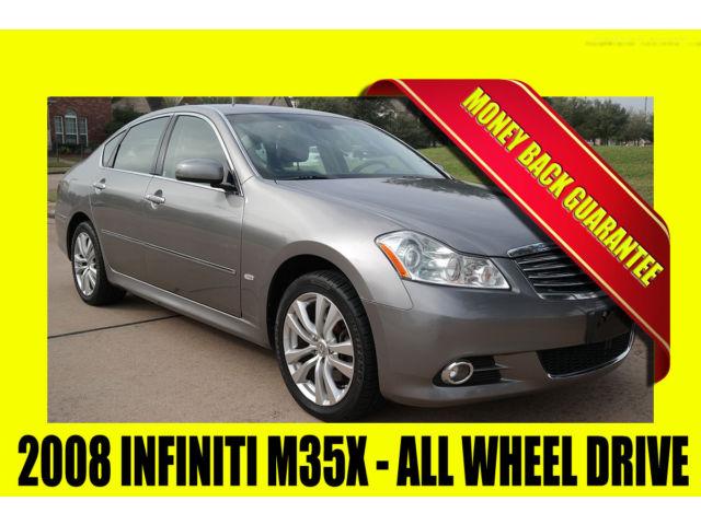 Infiniti : M35 M35X ~ ALL WHEEL DRIVE ~ MONEY BACK GUARANTEE!!! 2008 infiniti m 35 x all wheel drive rust free clean title heated seats