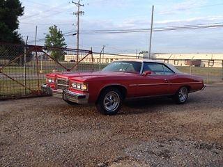 Pontiac : Other convertible 1975 pontiac grandville convertible