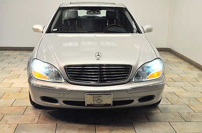 Mercedes-Benz : S-Class S500 500 2000 mercedes benz s 500 only 43 k one of kind