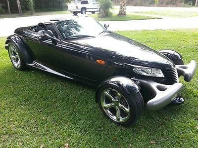 Plymouth : Prowler Roadster 2D 1999 plymouth prowler black rare