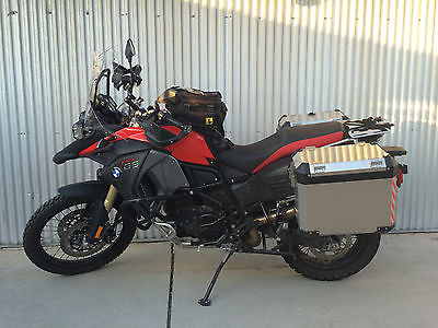 BMW : F-Series 2014 bmw f 800 gs adventure red low miles excellent condition still warranty