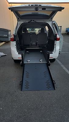 Toyota : Sienna Handicap wheelchair accessible van NEW 2015 Toyota Sienna LE Rear Entry Van by  Mahadev Wheelchair Vans