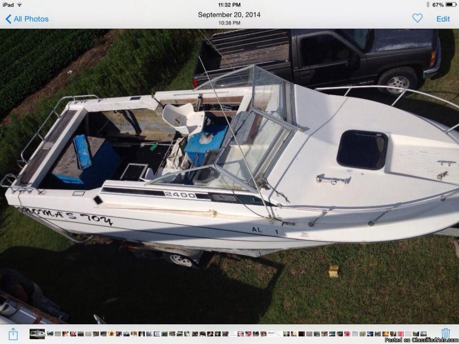 24ft Cabin Cruiser Boats For Sale