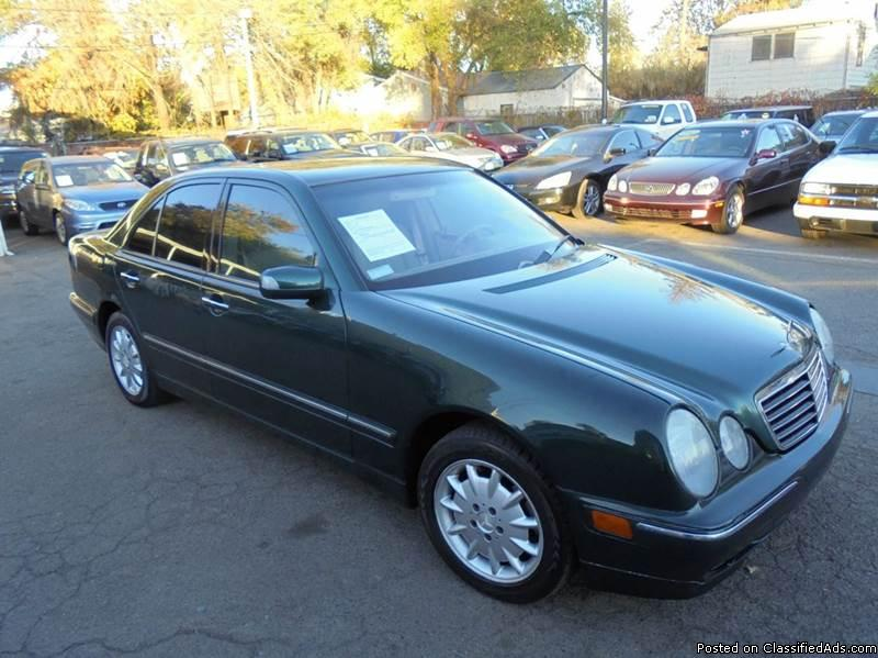 2001 Mercedes-Benz E-Class E320 4dr Sedan