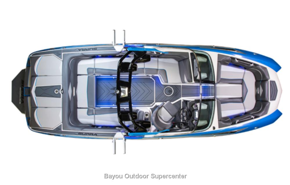 2016 Supra SE 450 World's Edition (Pacific Blue/Sterling Grey)