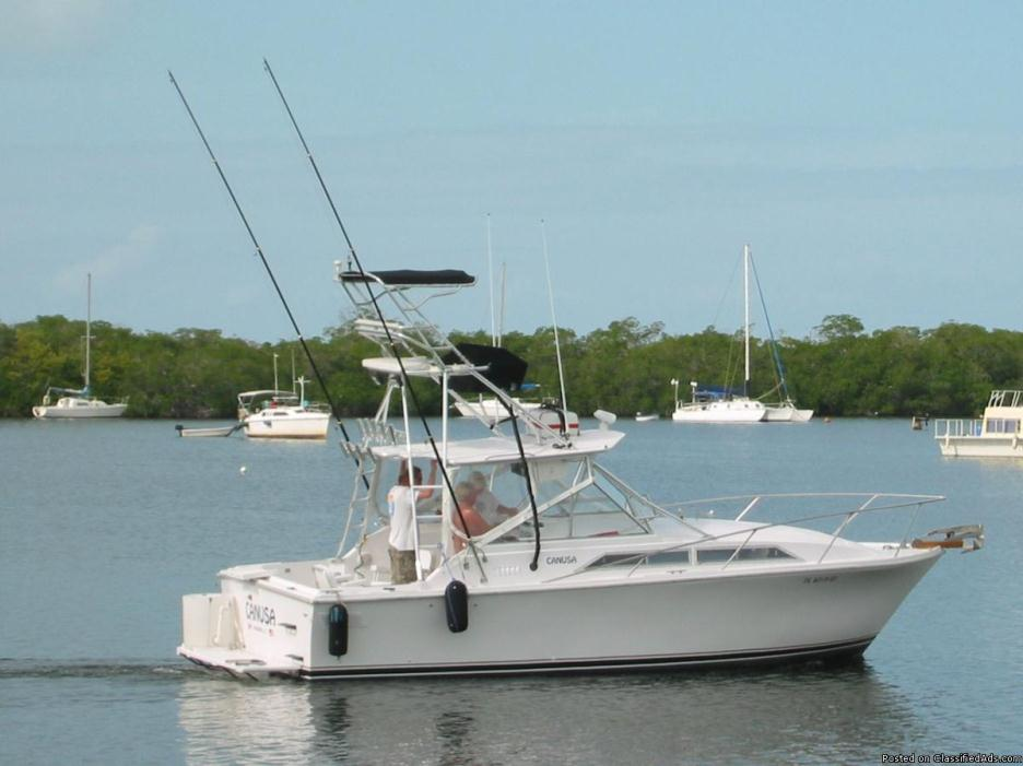 1973 Pacemaker Sportsfish : Ideal Oceanside Fishing Boat