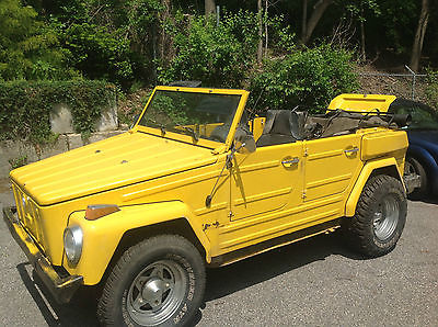 Volkswagen : Thing Base 1974 volkswagen thing base 1.6 l
