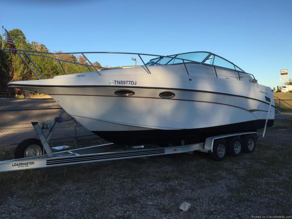 29 Ft. Crownline Cruiser with Opt. Loadmaster Trailer