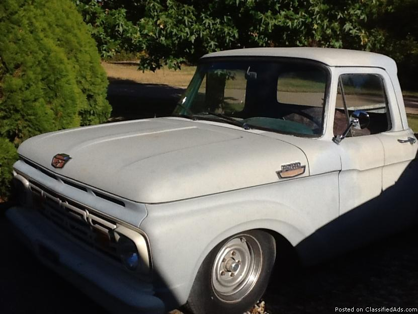 ford f100 cars for sale in wichita kansas. Black Bedroom Furniture Sets. Home Design Ideas