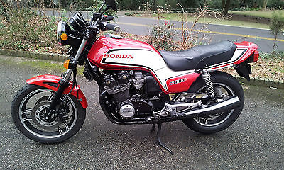 Honda : CB Rare! 1983 Honda CB1100F, Red/White, Superbike, Mint Condition, Low Miles!