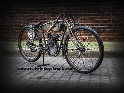 Custom Built Motorcycles : Other Harley Davidson, AntiqueTribute Replica, Board Track Cafe Racer, Vintage motor