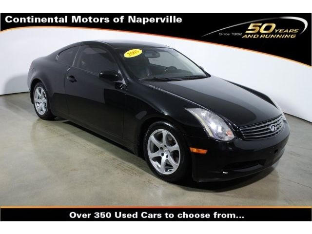 Infiniti : G Base Coupe 2-Door Coupe 3.5L CD 6 Speakers AM/FM radio AM/FM/MP3 Playback/RDS w/In-Dash 6-Disc CD
