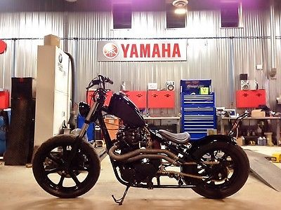 Custom Built Motorcycles : Bobber 1982 yamaha xs 650 bobber full custom build excellent condition